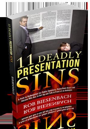 11 Deadly Presentation Sins
