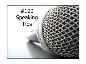#100SpeakingTips
